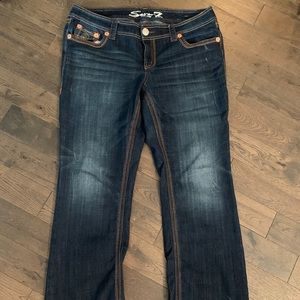 Seven7 Bootcut Jeans, Size 16
